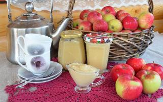 Яблочное пюре из антоновки в мультиварке на зиму — рецепт с пошаговыми фото