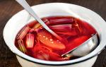 Варенье из ревеня на зиму — рецепт приготовления с пошаговыми фото