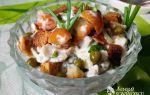 Салаты из опят и куриной грудки: рецепты куриных салат со свежими, жареными и маринованными опятами