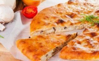 Рецепты осетинских пирогов с грибами, курицей, картошкой и сыром: как приготовить осетинские пироги