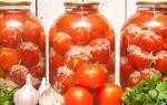 Помидоры черри с чесноком на зиму — рецепт с пошаговыми фото