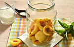 Компот из абрикосов без стерилизации на зиму — 16 рецептов на 3-х литровую банку с пошаговыми фото