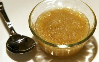 Пюре из яблок без стерилизации с сахаром на зиму — рецепт с пошаговыми фото
