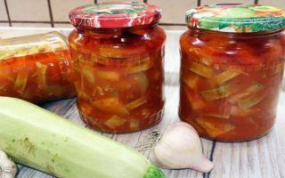 Кабачки на зиму — 5 вкусных и простых рецептов с фото пошагово