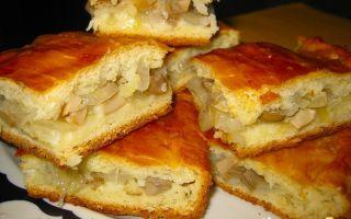 Пироги с солеными грибами: фото и рецепты, как приготовить пироги с начинкой из соленых грибов