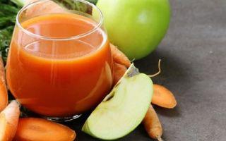 Морковно-яблочный сок с мякотью на зиму — рецепт с пошаговыми фото