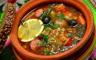 Солянка из ранней капусты на зиму — рецепт с пошаговыми фото