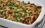 Запеканки с мясом и грибами в духовке: рецепты картофельных запеканок и блюд с макаронами