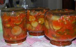 Огурцы в томате на зиму — обалденный рецепт с пошаговыми фото