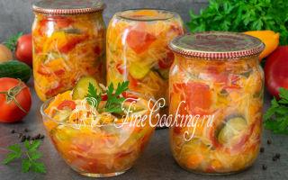 Салат из капусты и помидоров на зиму — рецепт с пошаговыми фото