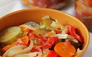 Салат охотничий — 10 рецептов на зиму с пошаговыми фото