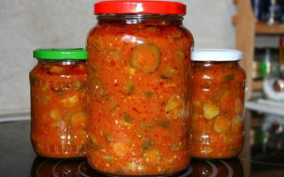 Огурцы в томатной заливке без стерилизации на зиму — рецепт с пошаговыми фото
