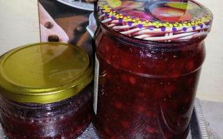 Варенье из груш и брусники на зиму — простой пошаговый рецепт