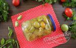 Зеленые помидоры по-армянски на зиму без стерилизации — рецепт с пошаговыми фото