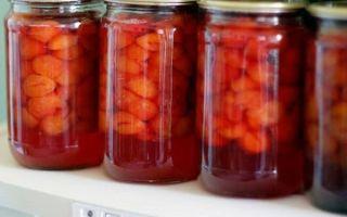 Компот из алычи на зиму — 15 рецептов простых с пошаговыми фото
