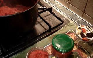 Томатная паста без стерилизации на зиму — 15 рецептов в домашних условиях с фото