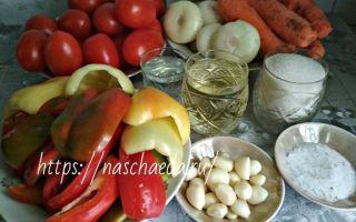 Лечо из огурцов, помидоров и сладкого перца на зиму — пошаговый рецепт с фото