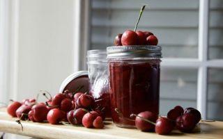Густое повидло из вишни без косточек на зиму — рецепт с пошаговыми фото