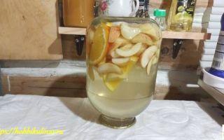 Компот из черники с яблоком на зиму — рецепт на 3-х литровую банку с пошаговыми фото