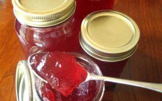 Желе из малины и красной смородины на зиму — простой пошаговый рецепт