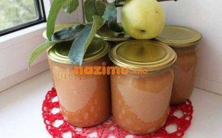 Яблочное пюре без сахара на зиму — пошаговый рецепт с фото