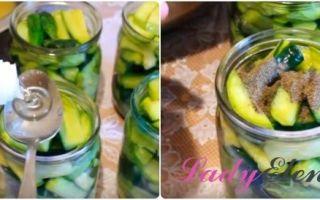 Салат из кабачков и огурцов на зиму — 8 рецептов пальчики оближешь с пошаговыми фото