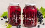 Компот из персиков и винограда на зиму — пошаговый рецепт с фото