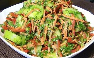 Зеленые помидоры по-корейски на зиму — самые простые рецепты