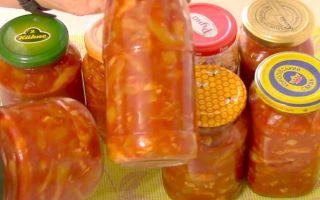 Лечо из кабачков, болгарского перца и помидоров на зиму — рецепт приготовления с пошаговыми фото