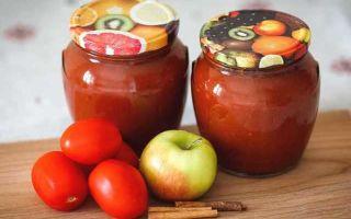 Кетчуп из помидоров с яблоками на зиму — 5 простых рецептов с фото пошагово