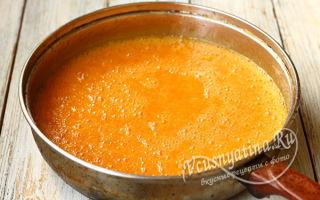 Желе из абрикосов с апельсинами на зиму — рецепт с пошаговыми фото