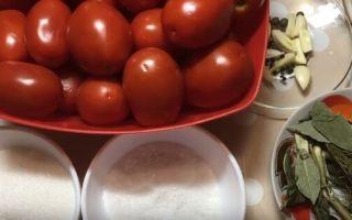 Соленые помидоры на зиму — 51 рецепт в банках с пошаговыми фото