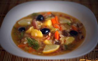 Как приготовить солянку с грибами: фото, видео, пошаговые рецепты приготовления супов и вторых блюд