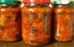 Салат из кабачков и перца на зиму — 52 рецепта пальчики оближешь с пошаговыми фото