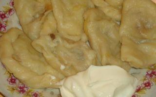 Домашние вареники с картошкой и грибами: фото, пошаговые рецепты приготовления вкусных блюда