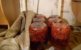 Компот из черники и красной смородины на зиму — рецепт с пошаговыми фото