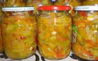 Салат из зеленых помидор с морковкой на зиму — простой пошаговый рецепт