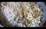 Салат из кабачков и капусты на зиму — пошаговый рецепт с фото
