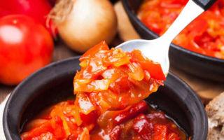 Лечо из перца с томатным соком на зиму — рецепт приготовления с пошаговыми фото