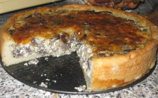 Пироги с рисом и грибами: рецепты приготовления грибной выпечки в духовке