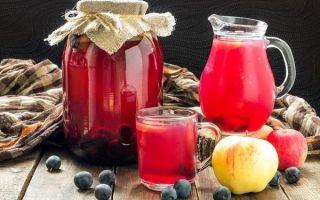 Компот из абрикосов и вишни без стерилизации на зиму — пошаговый рецепт с фото