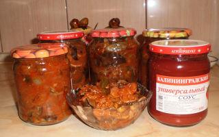 Солянка с опятами на зиму — рецепт приготовления с пошаговыми фото