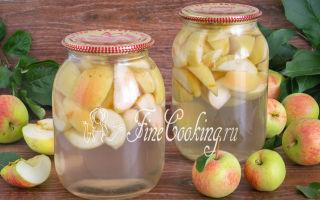 Компот из арбуза и яблок на зиму — вкусный рецепт с пошаговыми фото