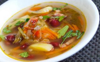 Рассольник с фасолью на зиму — рецепт с пошаговыми фото