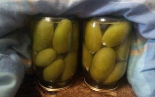 Маринованные зеленые помидоры с чесноком на зиму — 5 рецептов с фото пошагово