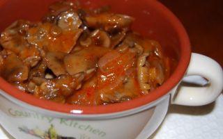 Маринованные опята в томатном соусе: рецепты на зиму, как мариновать опята в томатном соусе