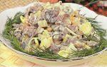 Вкусные салаты с мясом и грибами: фото и рецепты приготовления сытных грибных блюд
