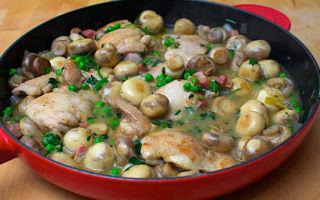 Блюда из куриной печени и грибов шампиньонов: салаты, паштеты и другие вкусные блюда