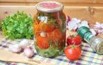 Помидоры с петрушкой на зиму — 90 рецептов самых вкусных с пошаговыми фото