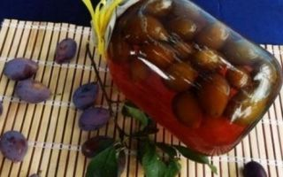 Компот из груш и слив на 3 литровую банку без стерилизации на зиму — простой рецепт от автора